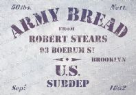 US Army Bread